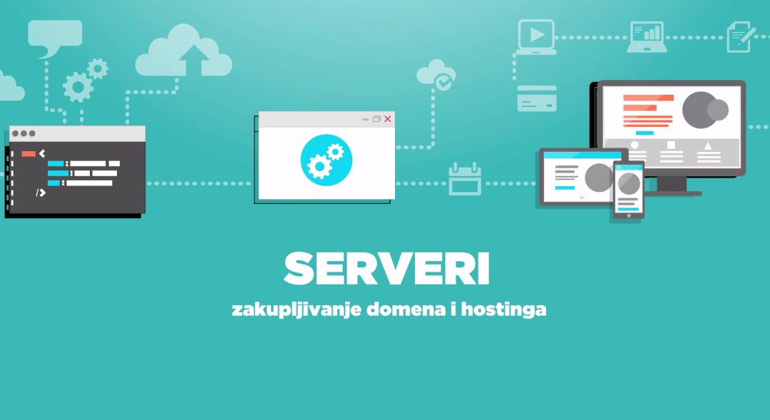 """Hosting Kurs """"Krojačeve škole"""" – naučite više o hostingu i domenima besplatno"""